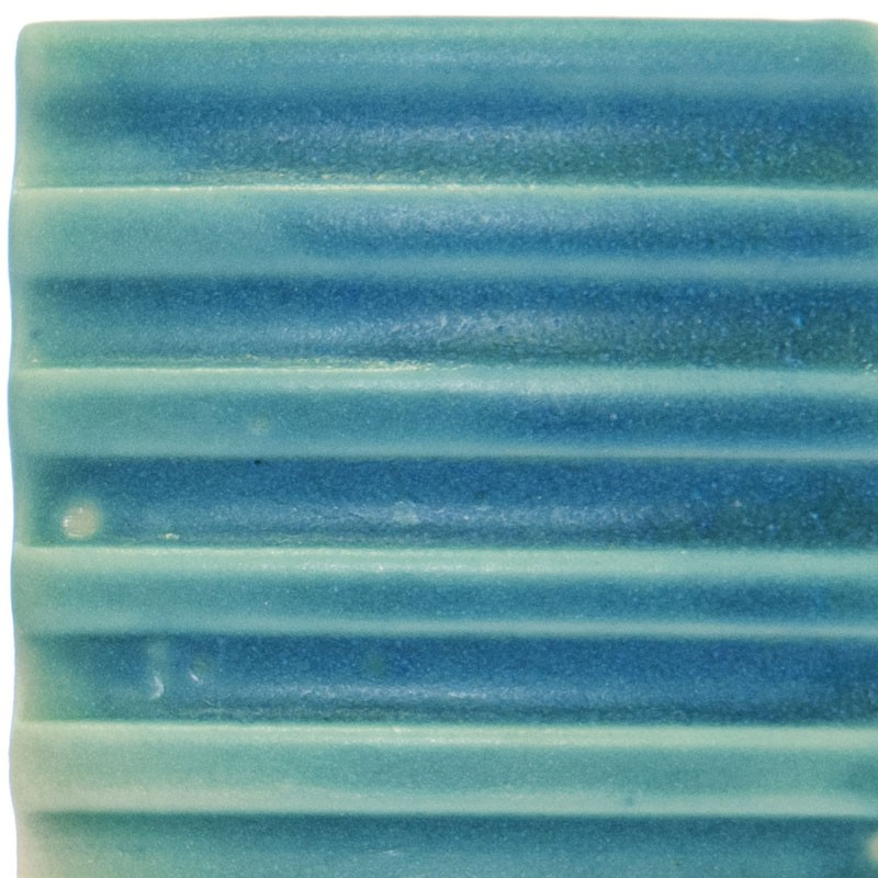 Vitraglaze Stoneware Glaze: Island Turquoise