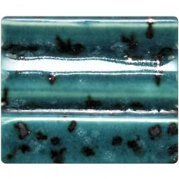 Spectrum Low Stone Glaze: Speckled Turquoise 934