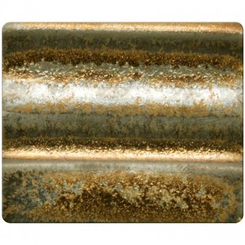 Spectrum Stoneware Glaze: Gold Rain 1114