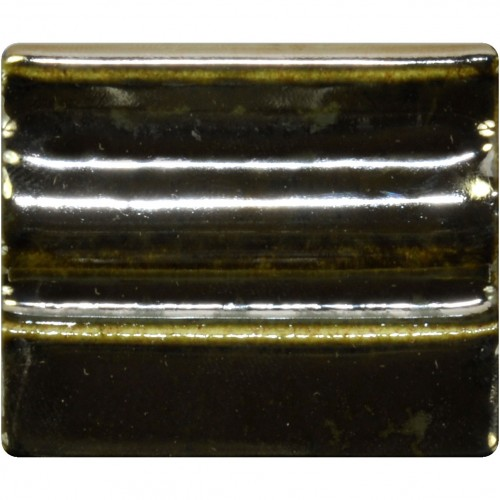 Spectrum Stoneware Glaze: Metallic Mirror 1116