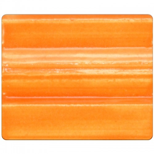 Spectrum Stoneware Glaze: Bright Orange 1166