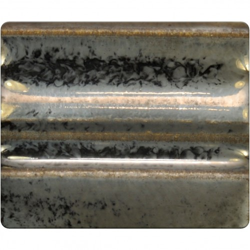 Spectrum Stoneware Glaze: Pewter 1188