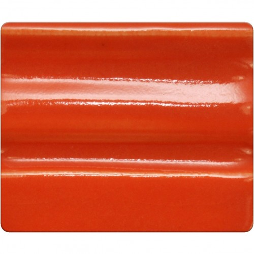 Spectrum Cone 9-10 Glaze: Neon Orange 1278