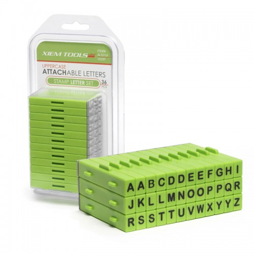 Xiem Attachable Letters - Uppercase
