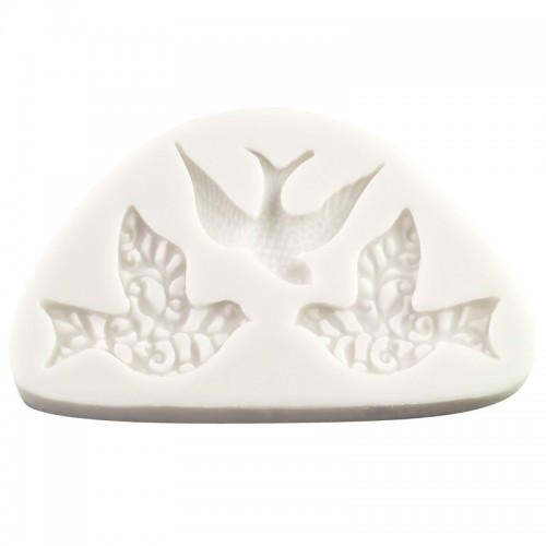 Silicone Mould - Three Little Birds