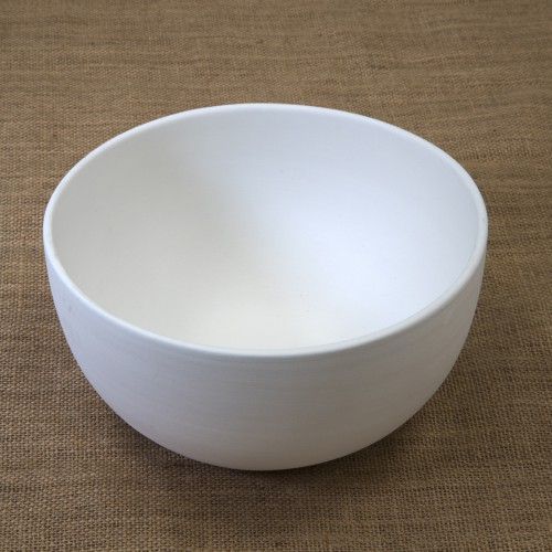 Bisque Salad Bowl Mould