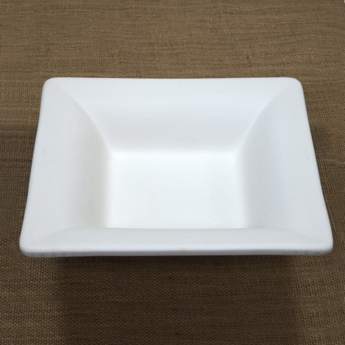 Bisque Small Deep Square Mould