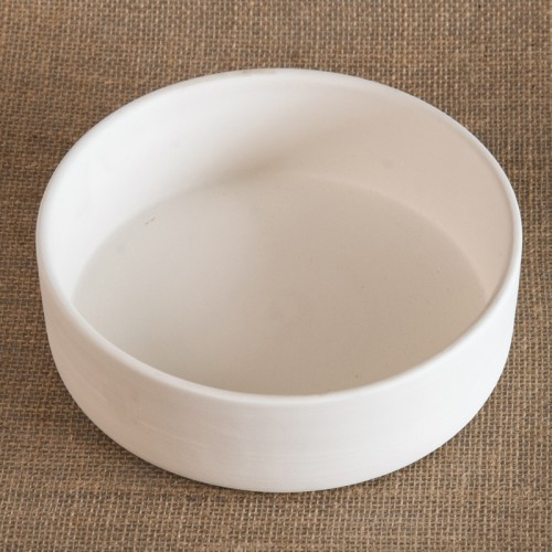 Bisque Dog Bowl