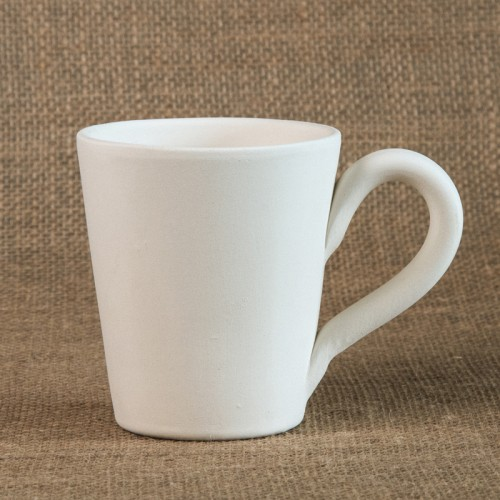 Bisque Small Cone Mug