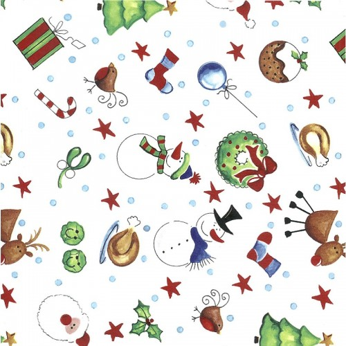 Christmas Time Decal 22cm x 22cm