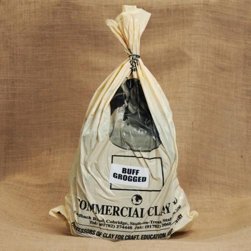 CCB Buff Grogged Clay 10 Bags of 12.5kg