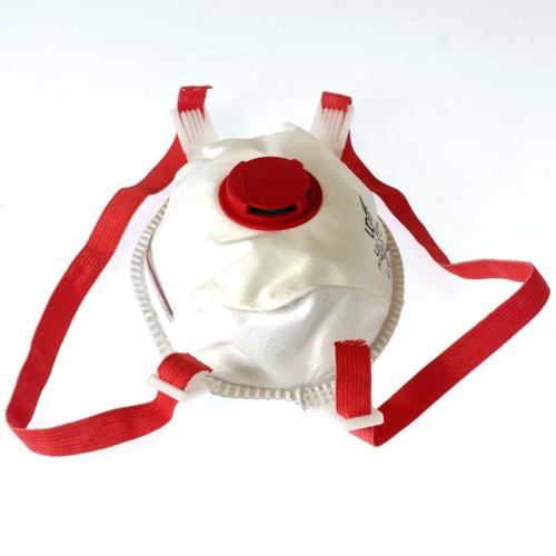 Dust Mask, FFP3 with Valve - Pack of 10