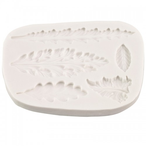 Silicone Mould - Decorative Leaves