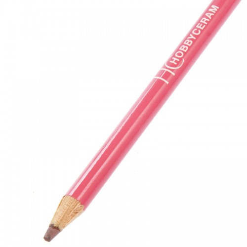 Hobbyceram Red Underglaze Pencil