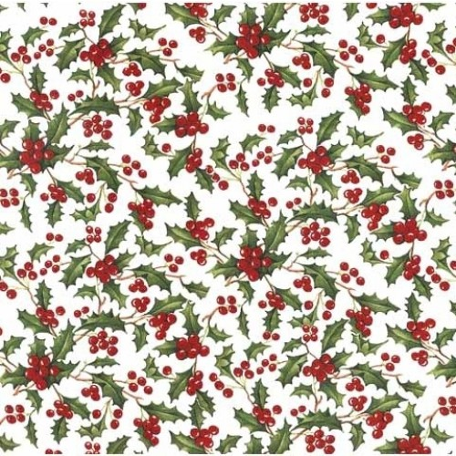 Holly Berry Decal 22cm x 22cm