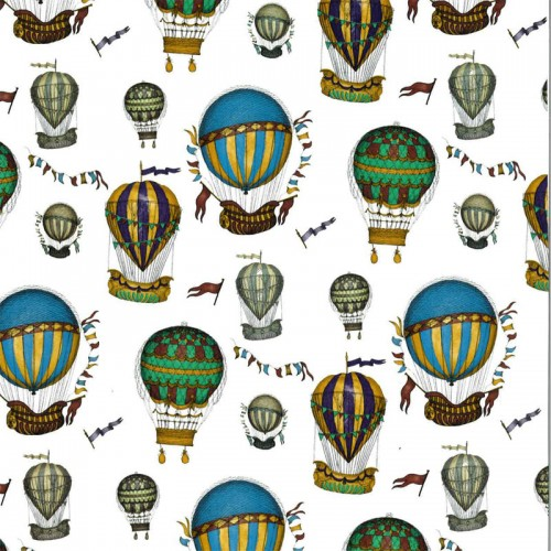 Hot Air Balloons Decal 22 x 22cm