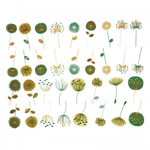Meadow Flowers Decal