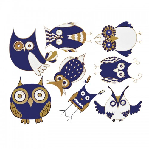 Modern Owl Decal