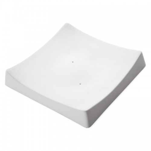 Square slumper Mould 8035 (20cm x 20.1cm x 1.8cm)