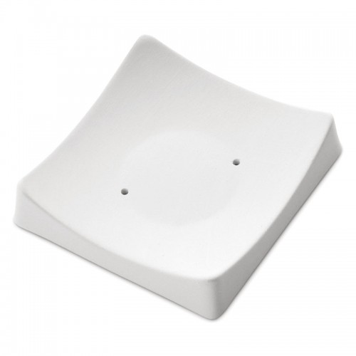 Square Slumper with Flat Base Mould 8298 (8.3cm x 8cm x 1cm)