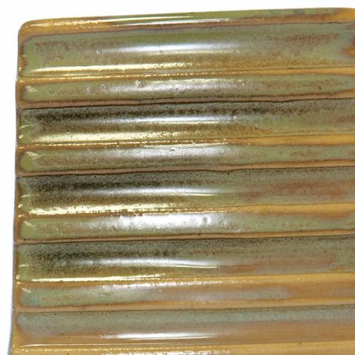 Vitraglaze Stoneware Glaze: Oak Green