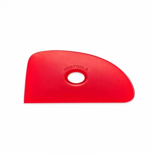 Mudtools Very Soft Red Polymer Rib - Shape 4
