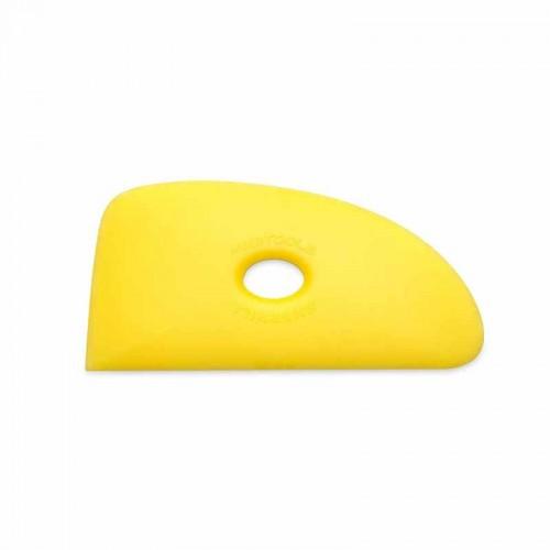 Mudtools Soft Yellow Polymer Rib - Shape 4