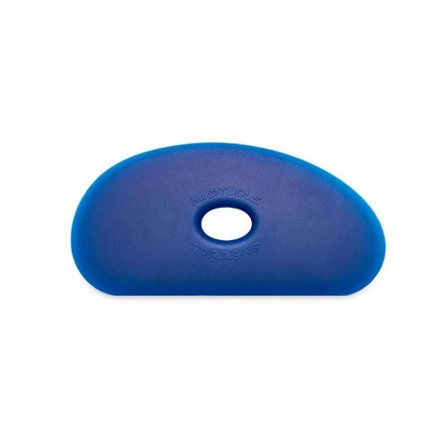 Mudtools Firm Blue Polymer Rib - Shape 5