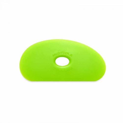 Mudtools Medium Green Polymer Rib - Shape 5