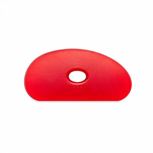 Mudtools Very Soft Red Polymer Rib - Shape 5