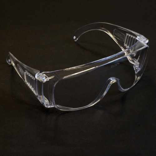 Safety Goggles: Economy Clear