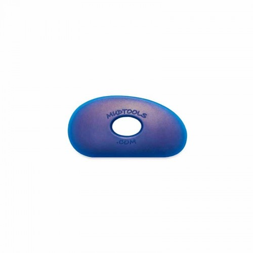 Mudtools Firm Blue Polymer Rib - Shape 0
