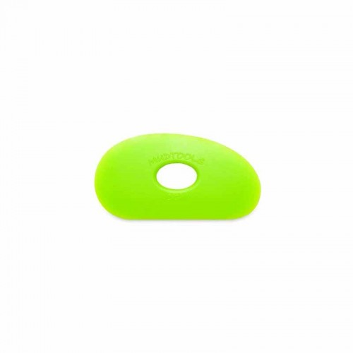 Mudtools Medium Green Polymer Rib - Shape 0