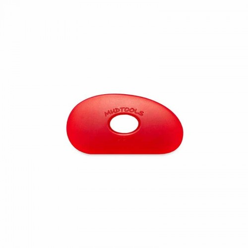 Mudtools Very Soft Red Polymer Rib - Shape 0