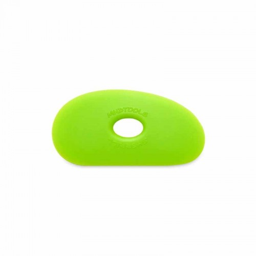 Mudtools Medium Green Polymer Rib - Shape 1