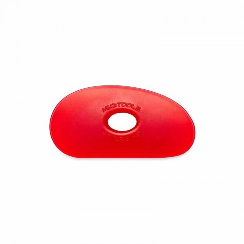 Mudtools Very Soft Red Polymer Rib - Shape 1