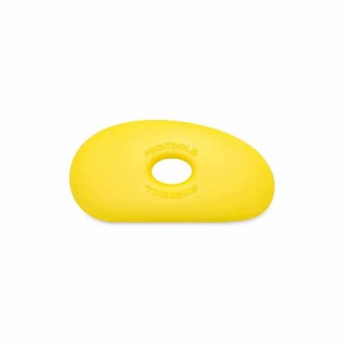 Mudtools Soft Yellow Polymer Rib - Shape 1