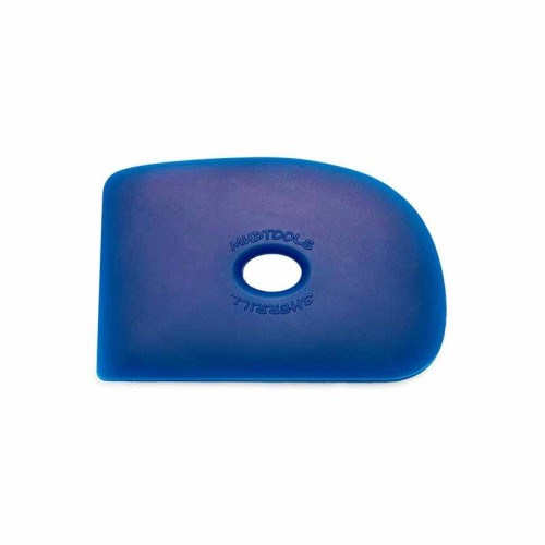 Mudtools Firm Blue Polymer Rib - Shape 2