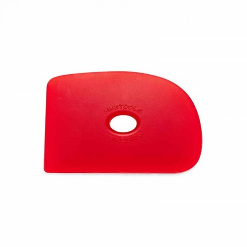 Mudtools Very Soft Red Polymer Rib - Shape 2
