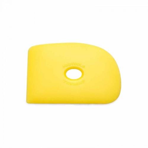 Mudtools Soft Yellow Polymer Rib - Shape 2