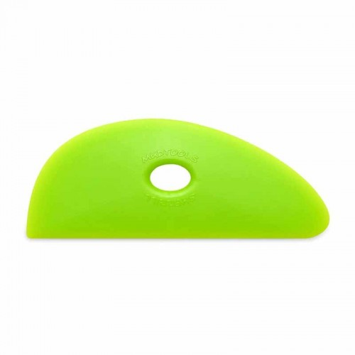 Mudtools Medium Green Polymer Rib - Shape 3