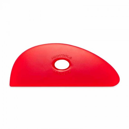 Mudtools Very Soft Red Polymer Rib - Shape 3