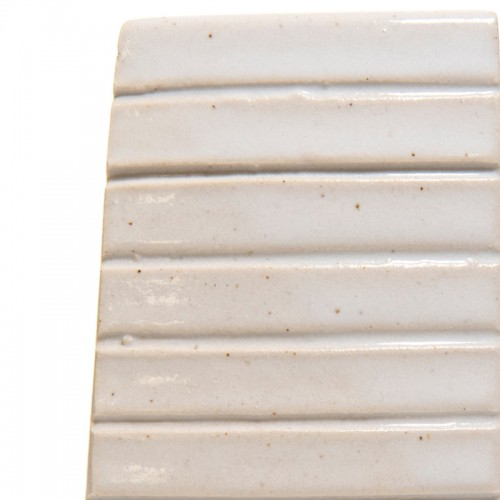 Vitraglaze Stoneware Glaze: Tin White Speckle