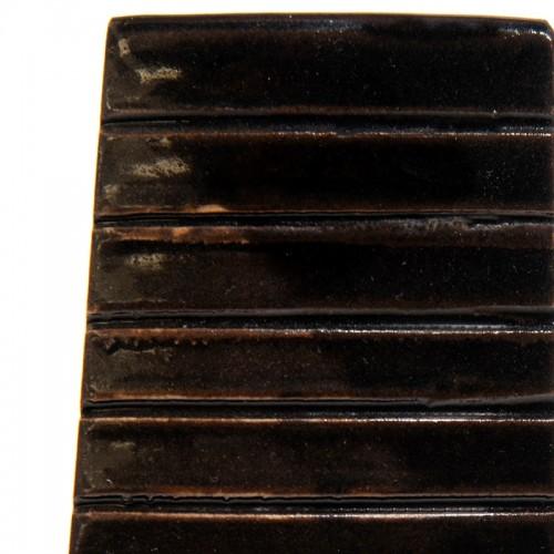 Vitraglaze Stoneware Glaze: Liquorice Black