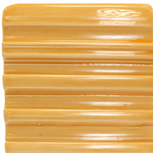 Vitraglaze Earthenware Glaze: Yellow-Orange