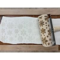 Snowflake Texture Roller