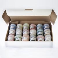 Vitraglaze Earthenware Glaze Sample Set in box