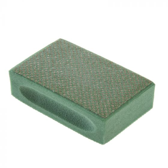 3M Diamond Hand Pad: Extra Coarse - Green
