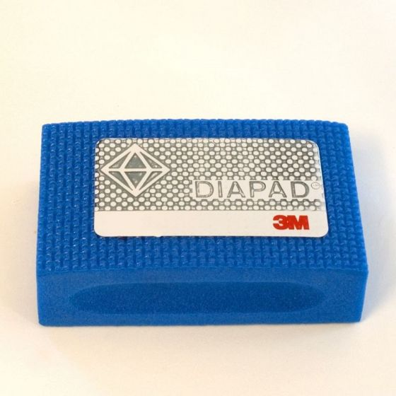 3M Diamond Hand Pad: Extra Fine - Blue
