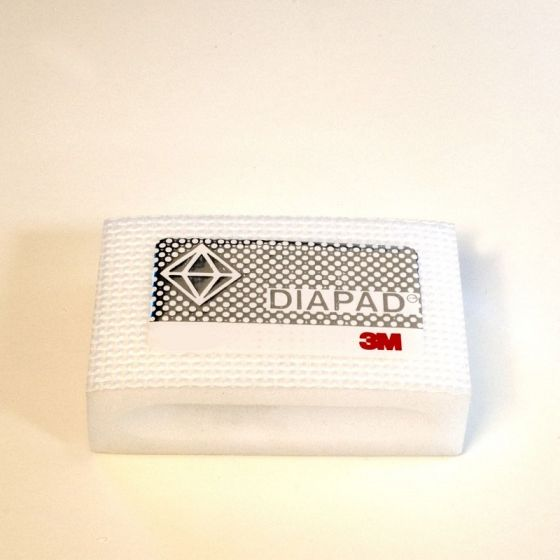 3M Diamond Hand Pad: Fine - White